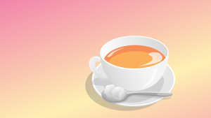 Lampenfieber überwinden Teetasse