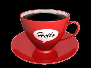 Kaffee - Rede schreiben