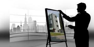 Präsentationstechniken - bild vom Architekten