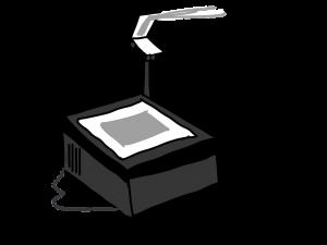 Overhead-Projektor - Präsentationstechniken