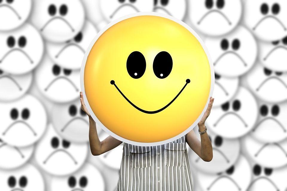 Smiley gute Laune