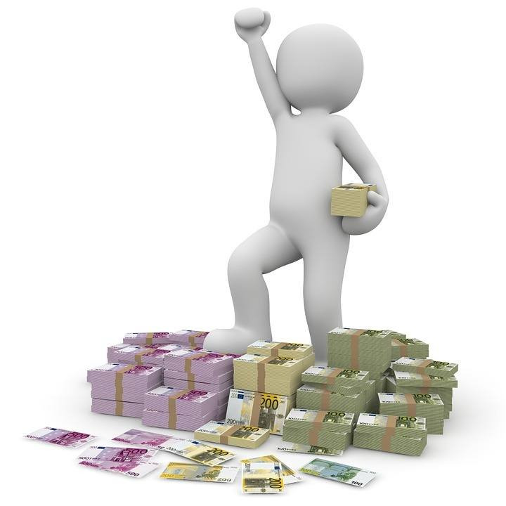 Viel Geld und Macht Selbstüberschätzung