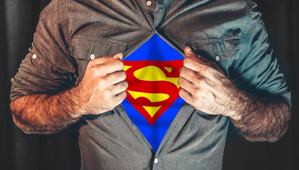 Superman Selbstüberschätzung