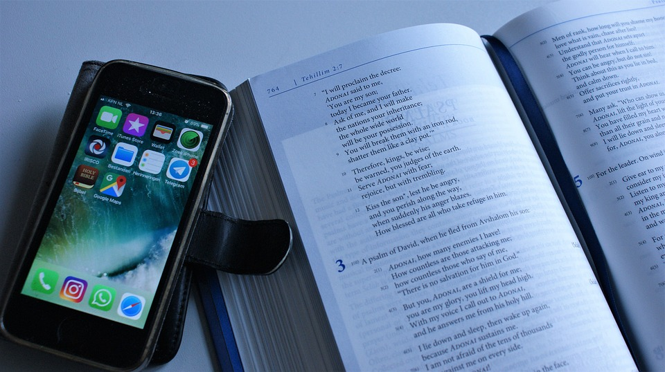 Vom Handy ablenken lassen Vortrag halten