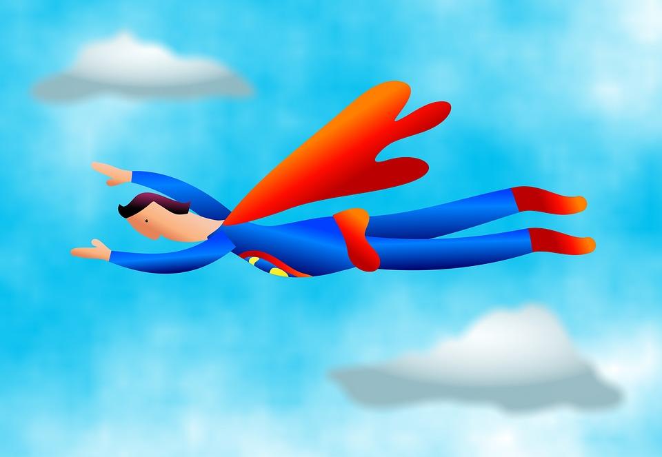 Superman Vortrag halten