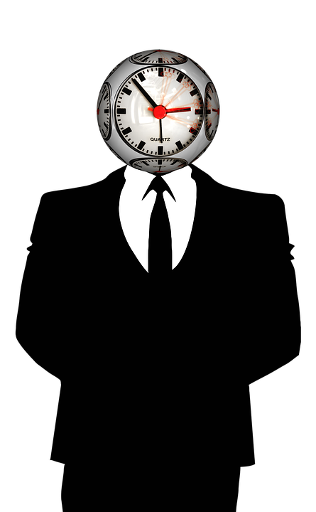 Die Uhr dreht sich weiter Nervosität