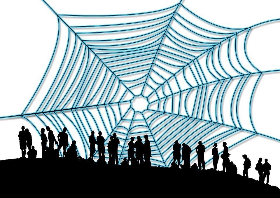 Spinnennetz Versprecher