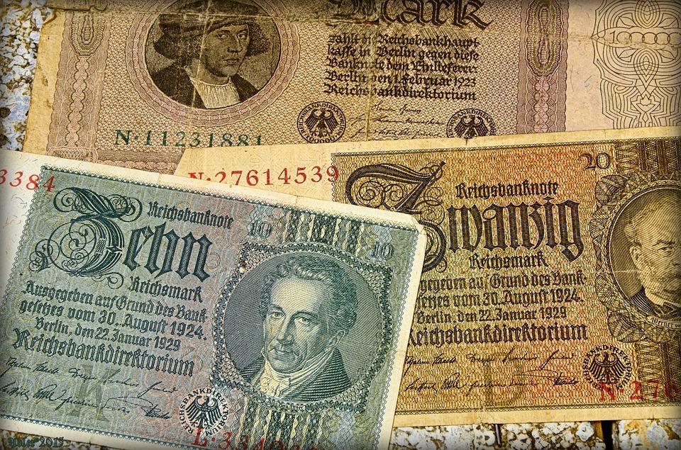 Geldscheine gute Präsentation