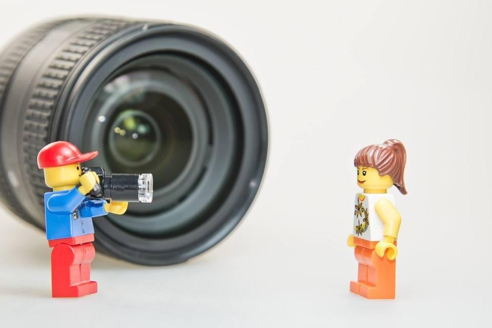 Kamera aufnehmen gute Präsentation