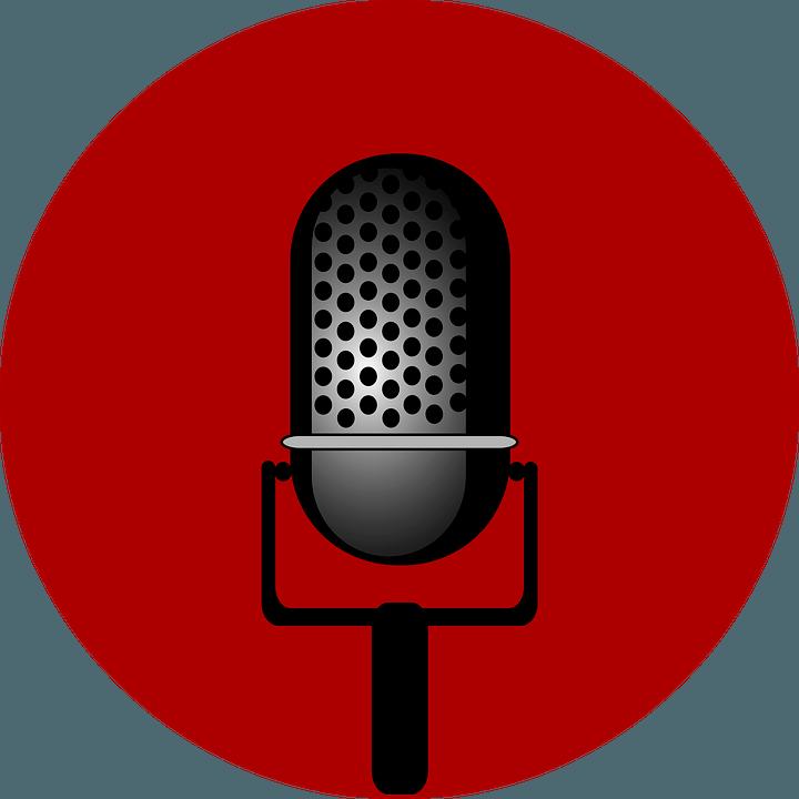 Rede halten Mikrophon