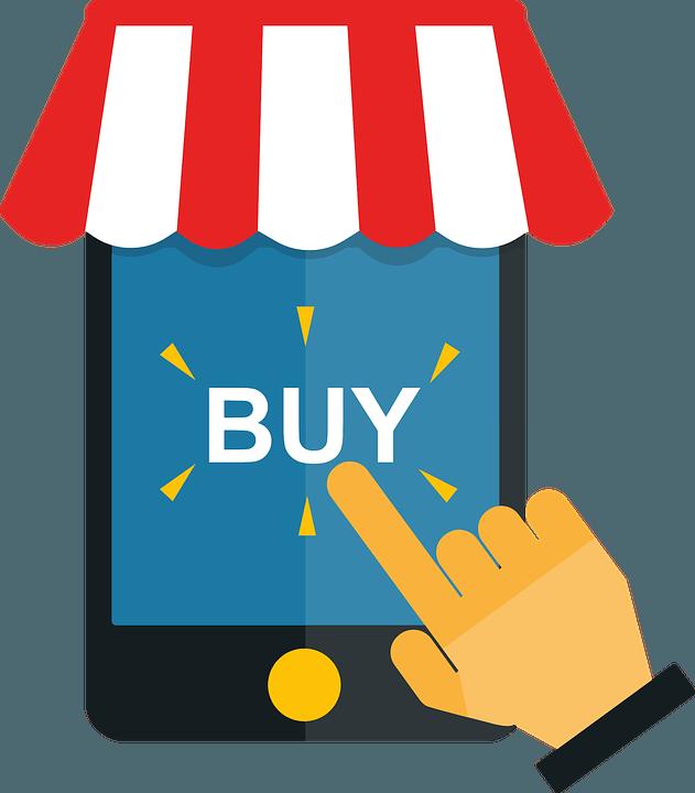 Kaufen Online rhetorische Frage