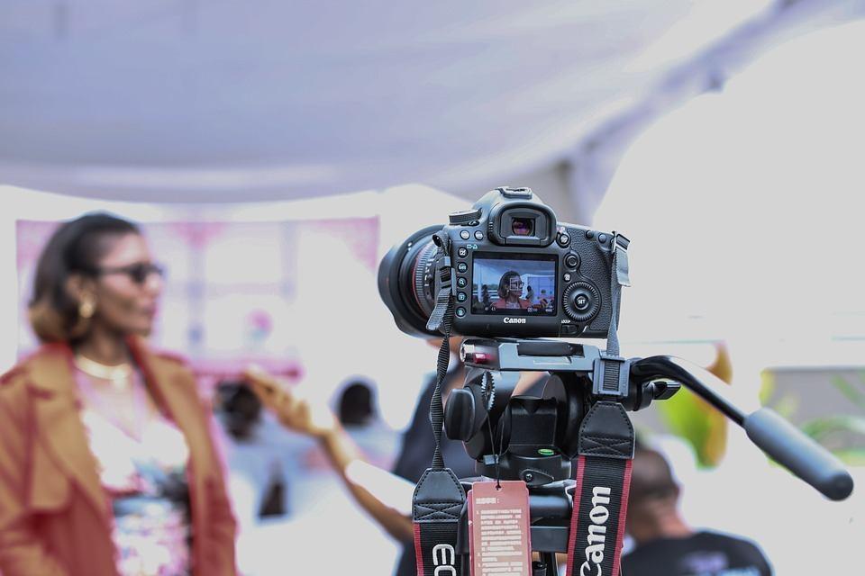 Kamera aufnehmen Redeangst