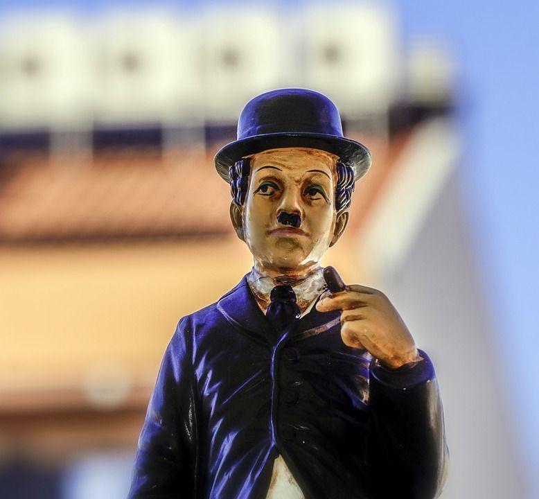 Unsicherheit Charlie Chaplin