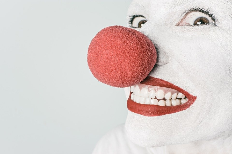 Clown Redeangst