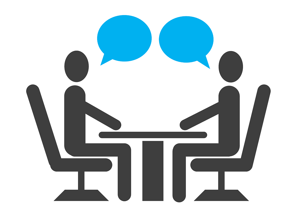 interview sicheres Auftreten