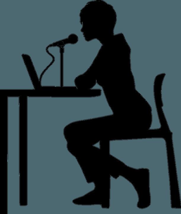 Mikrophon Überzeugungskraft