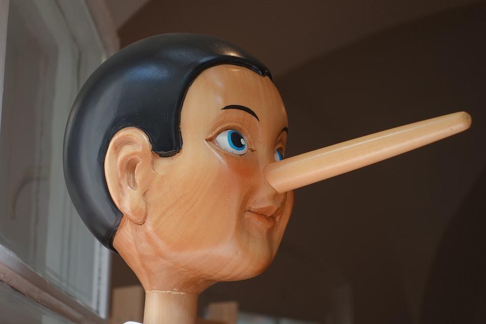 Pinoccio Glaubwürdigkeit