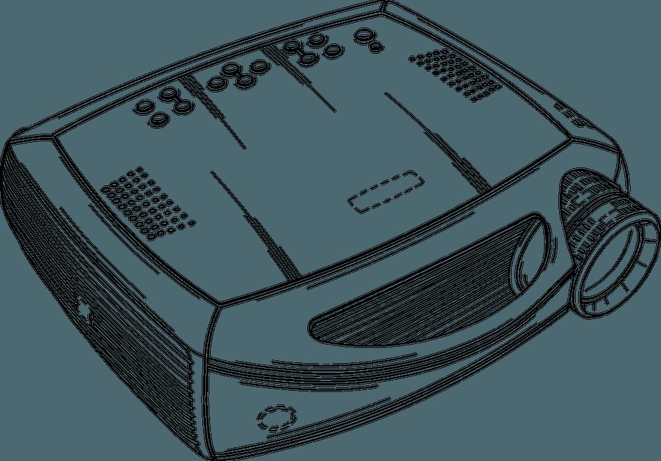 Projektor Präsentationstraining