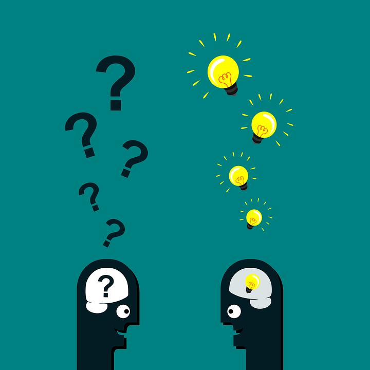 Fragen und Antworten rhetorische Frage
