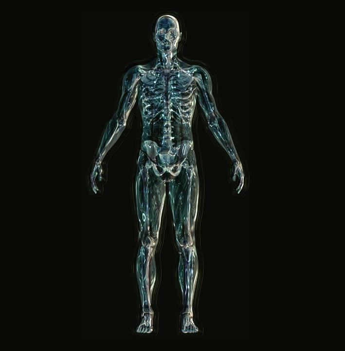 Skelett sicheres Auftreten