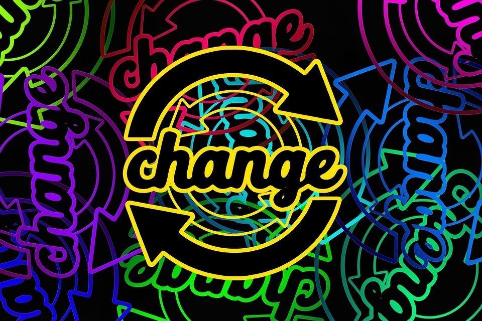 Verändern Gelassenheit