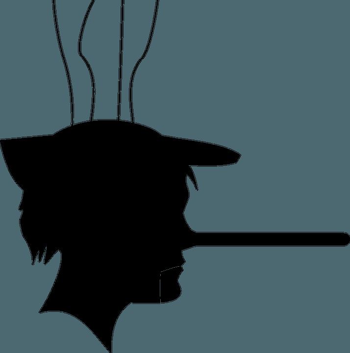 Lange Nase Manipulationstechniken