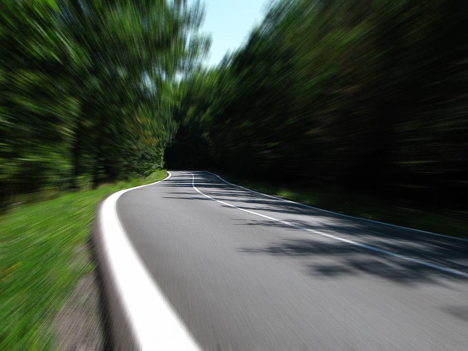 Straße Einstieg