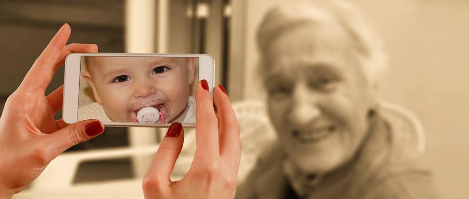 Oma und Baby Komfortzone