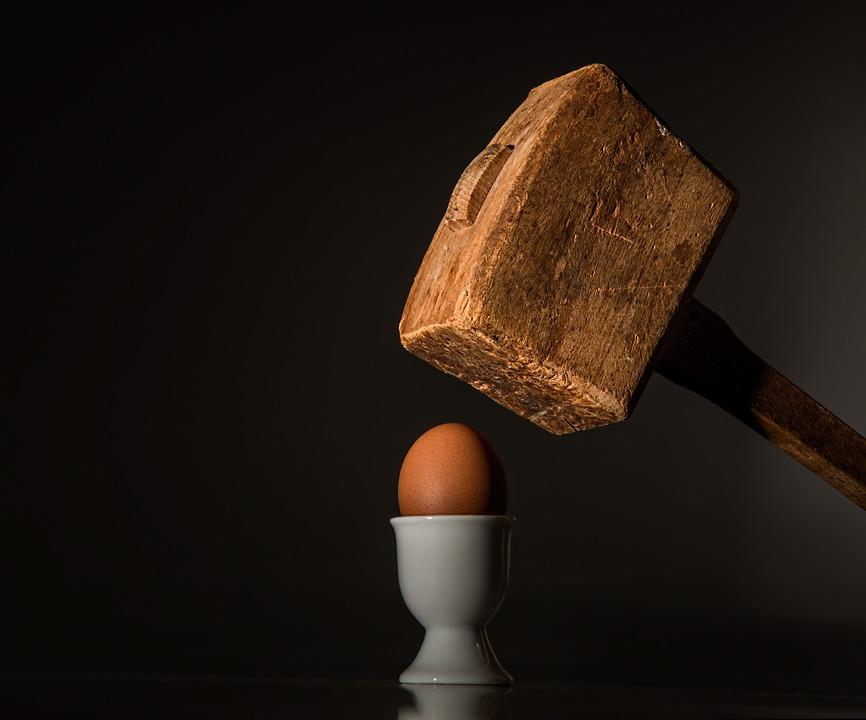 Ei zuschlagen Hater