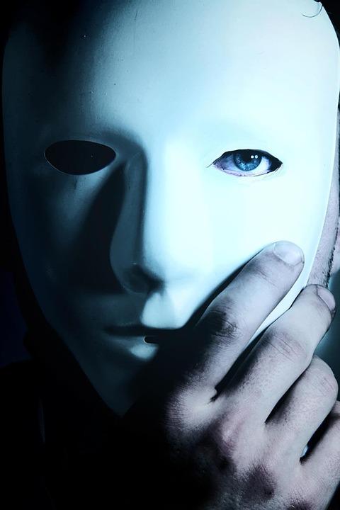 Maske tragen Leidenschaft