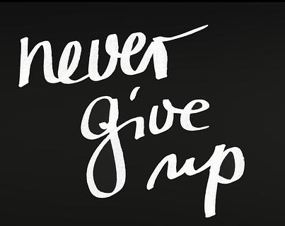 Niemals aufgeben Hater