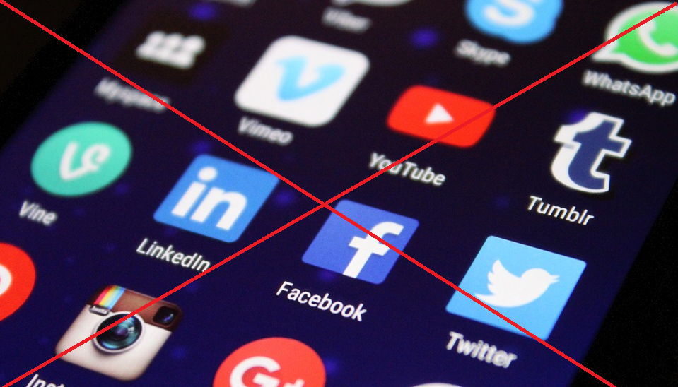 Social-Media Denkblockade