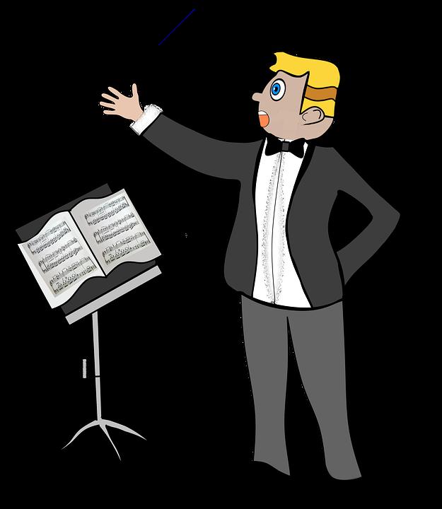 Selbstbewusst auftreten Sänger