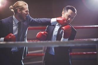 Konkurrenz 2 Männer
