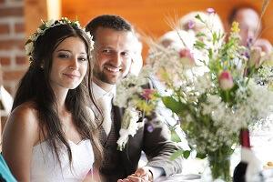 Brautpaar Trauzeugenrede