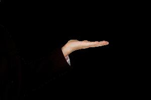 Hand aufzeigen