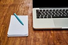 Notizzettel Laptop
