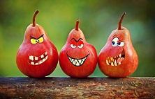Äpfel lachen