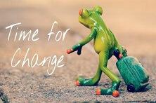 Zeit, sich zu verändern