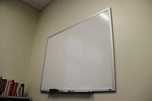Whiteboards Vortrag halten