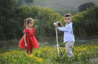 Kind beim Fotografieren Persönlichkeit